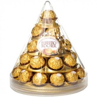 Цукерки Ferrero Rocher T28 Cono фото
