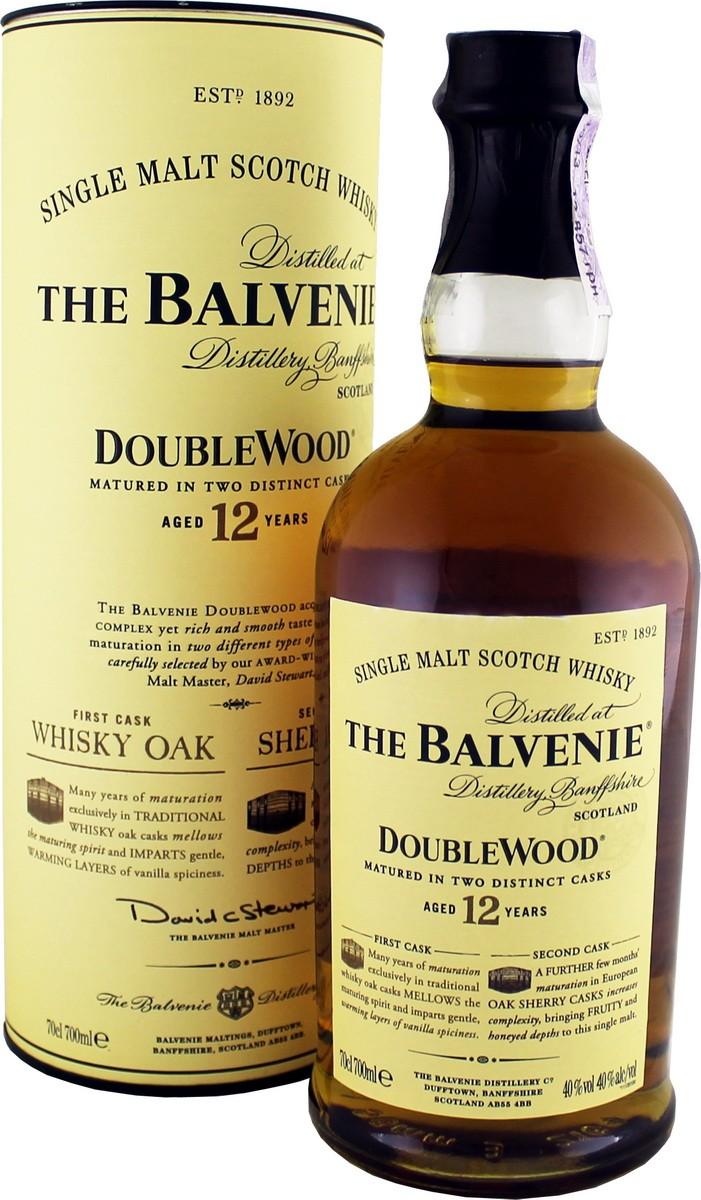 Balvenie 12Y.O. Double Wood (в тубусе) фото