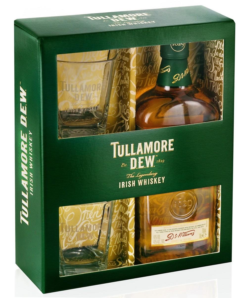 Tullamore Dew + 2 бокала фото