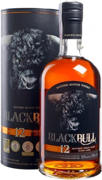Duncan Taylor Black Bull 12Y.O. (в тубусе) фото