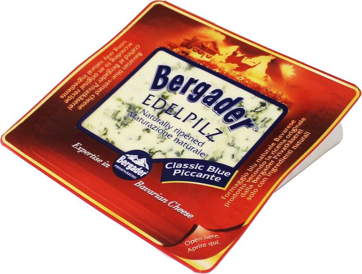 Сыр с голубой плесенню Edelpilz Bergader фото