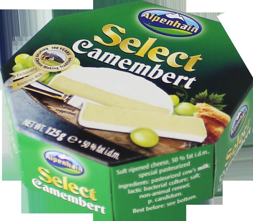 Сыр с белой плесенью Select Camembert Alpenhain фото