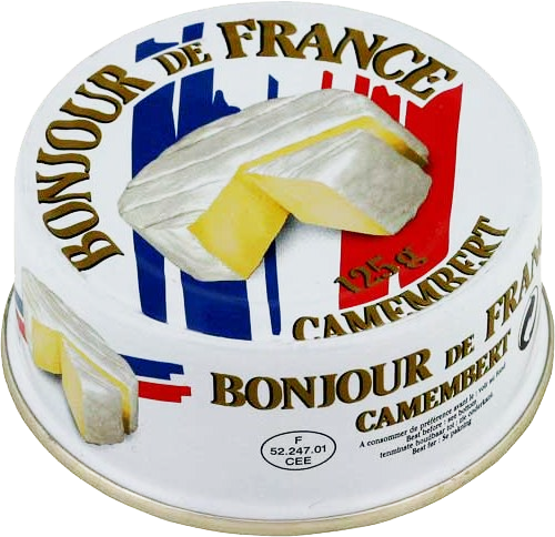 Сыр с белой плесенью Camembert Bonjour de France фото