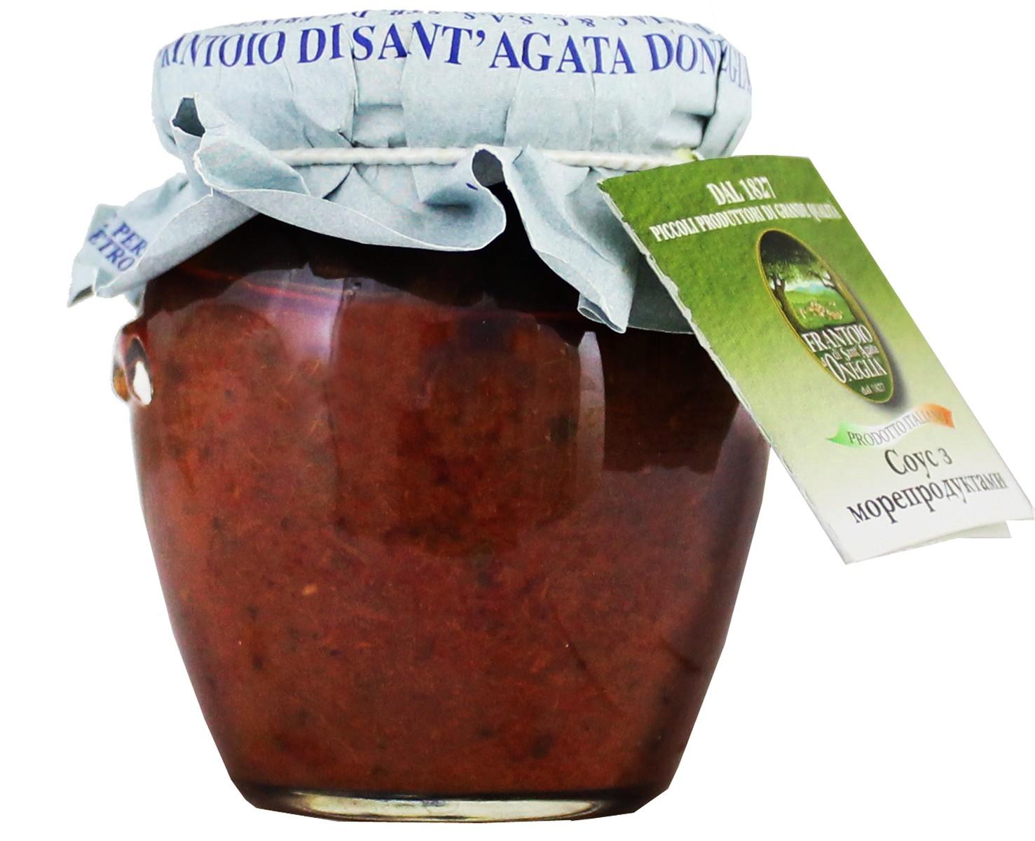 Frantoio di Sant'Agata соус из морепродуктов фото
