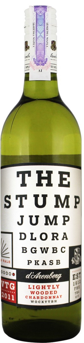 d'Arenberg The Stump Jump Lightly Wooded Chardonnay фото