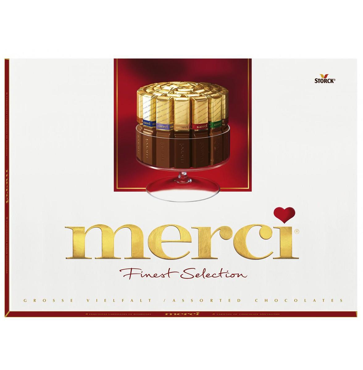Шоколад «Ассорти» 8 видов Merci фото