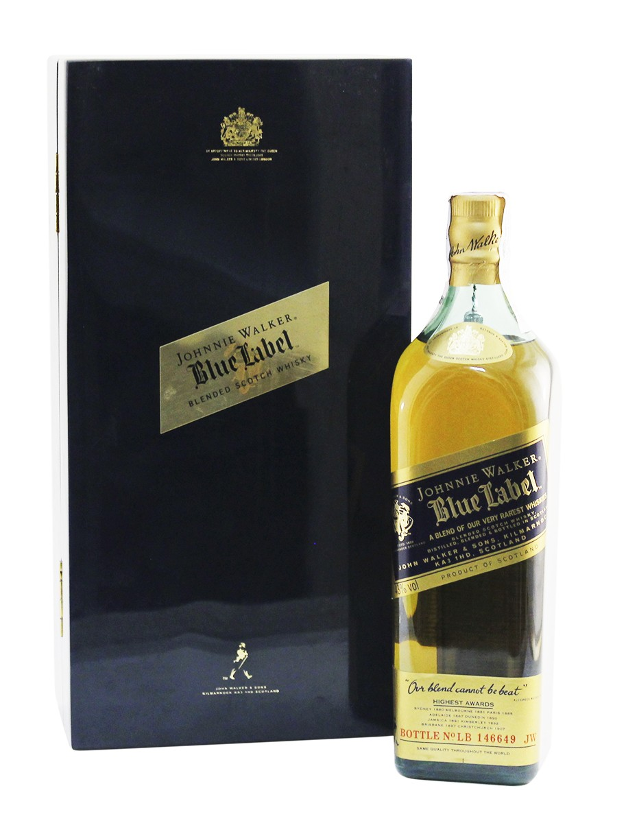 Johnnie Walker Blue Label (wooden box) фото