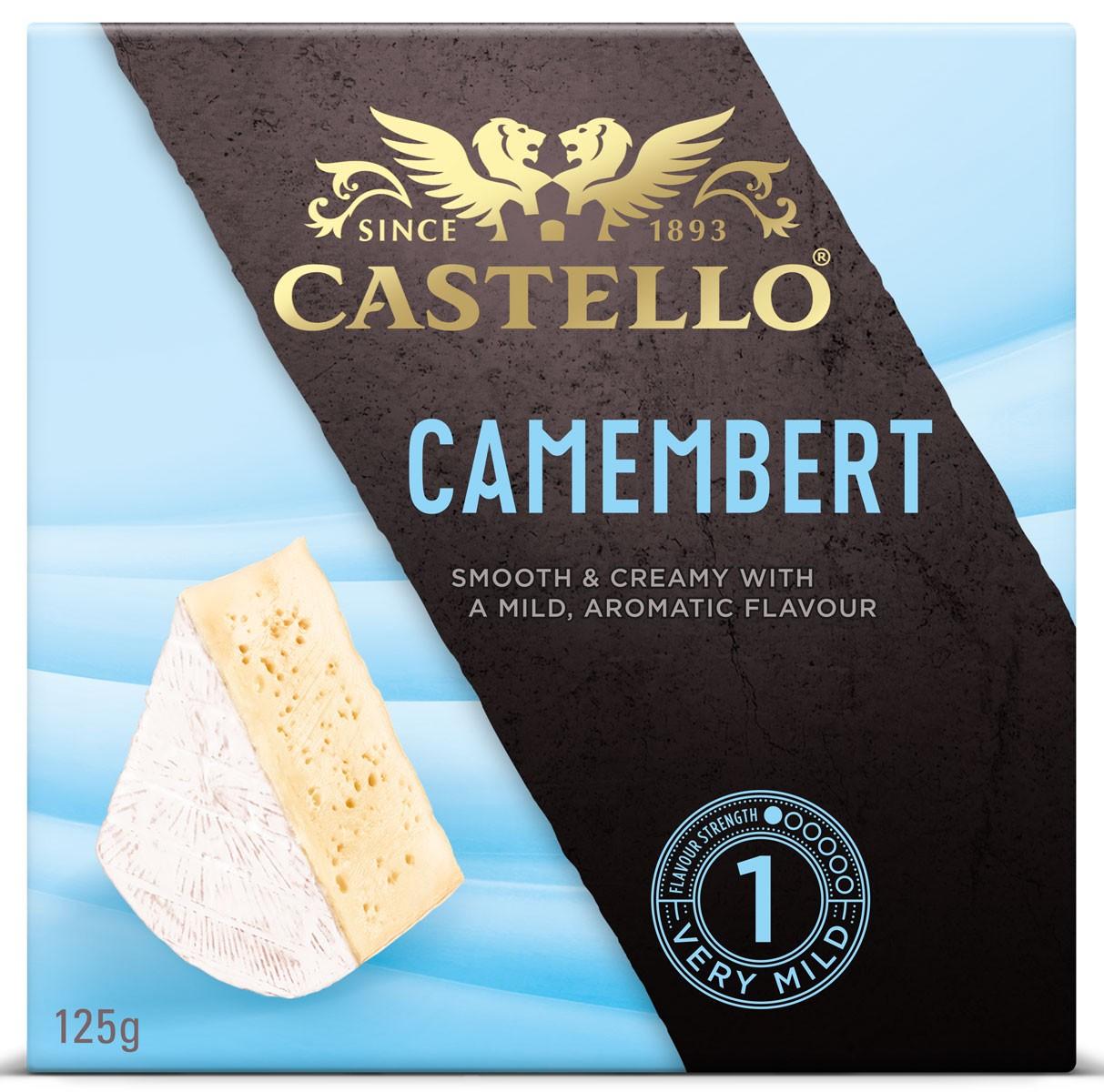 Сир з білою цвіллю Camembert Castello фото