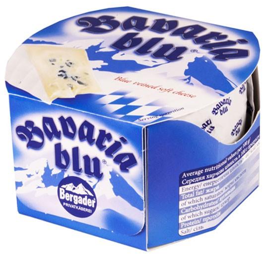 Сыр с голубой и белой плесенью Bavaria Blu Bergader фото