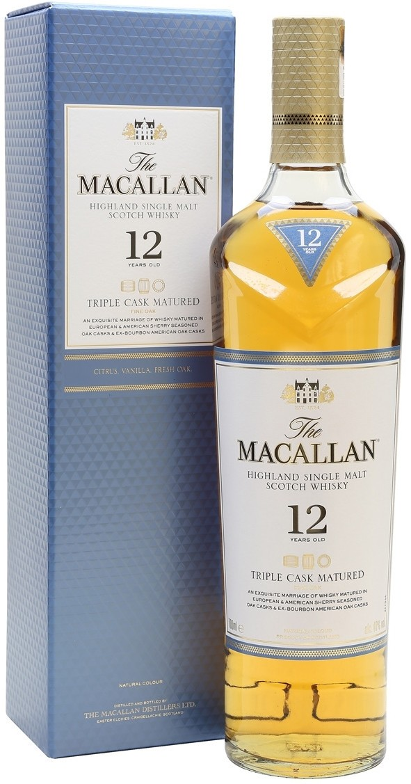 Macallan Triple Cask Matured 12 Y.O. (в коробке) фото