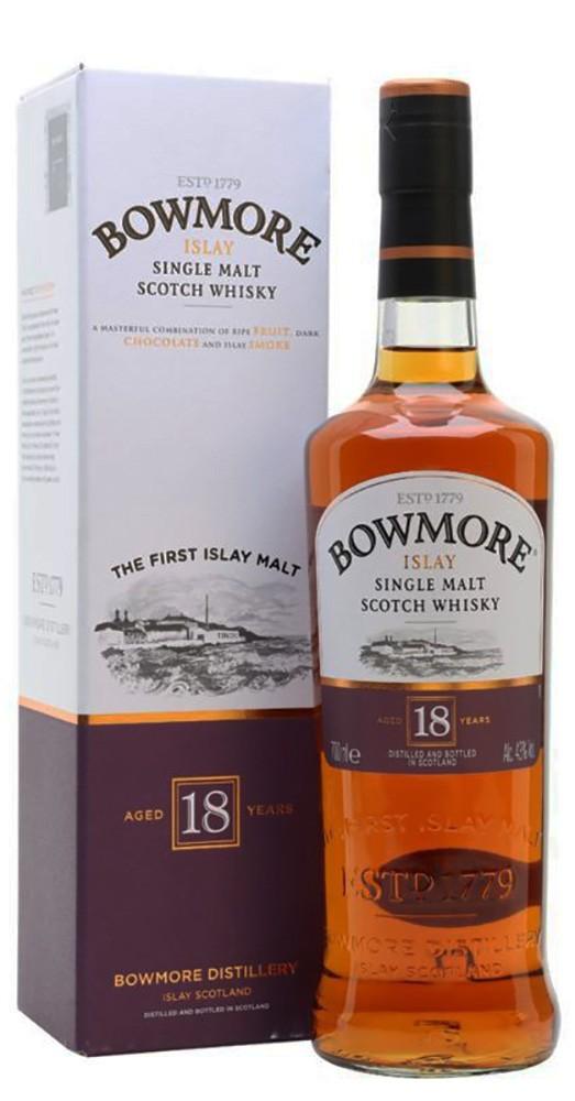 Bowmore 18 Y.O. (в коробке) фото