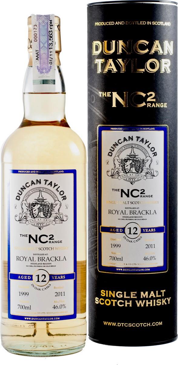 Duncan Taylor NC2 Royal Brackla 12Y.O. (в коробке) фото