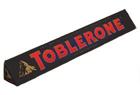Черный шоколад Toblerone фото