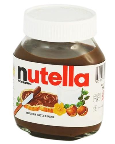 горіхова паста Ferrero Nutella з какао фото