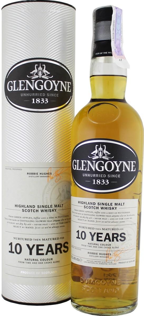 Glengoyne 10 Y.O. (в тубусі) фото