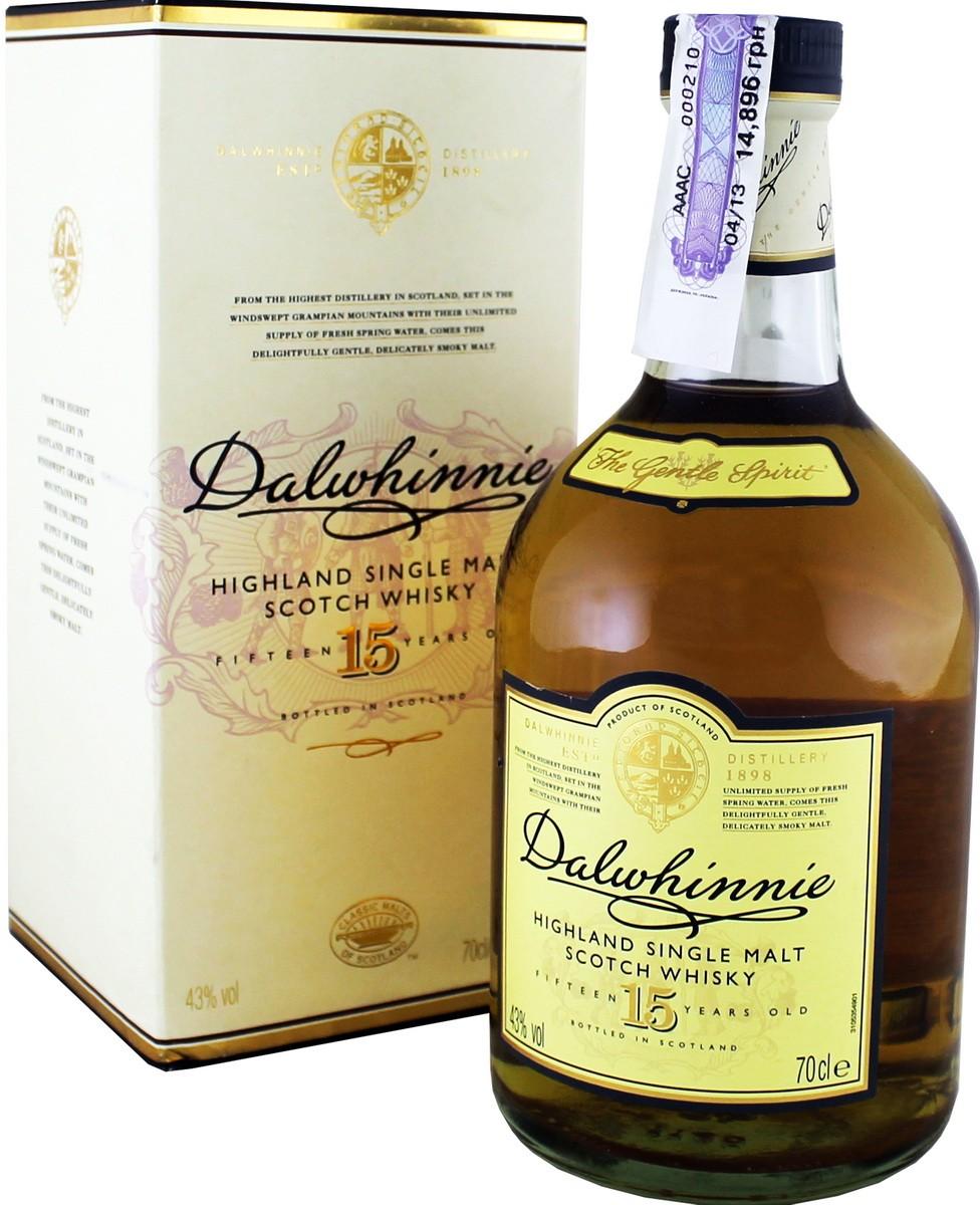 Dalwhinnie 15 Y.O. (в коробке) фото