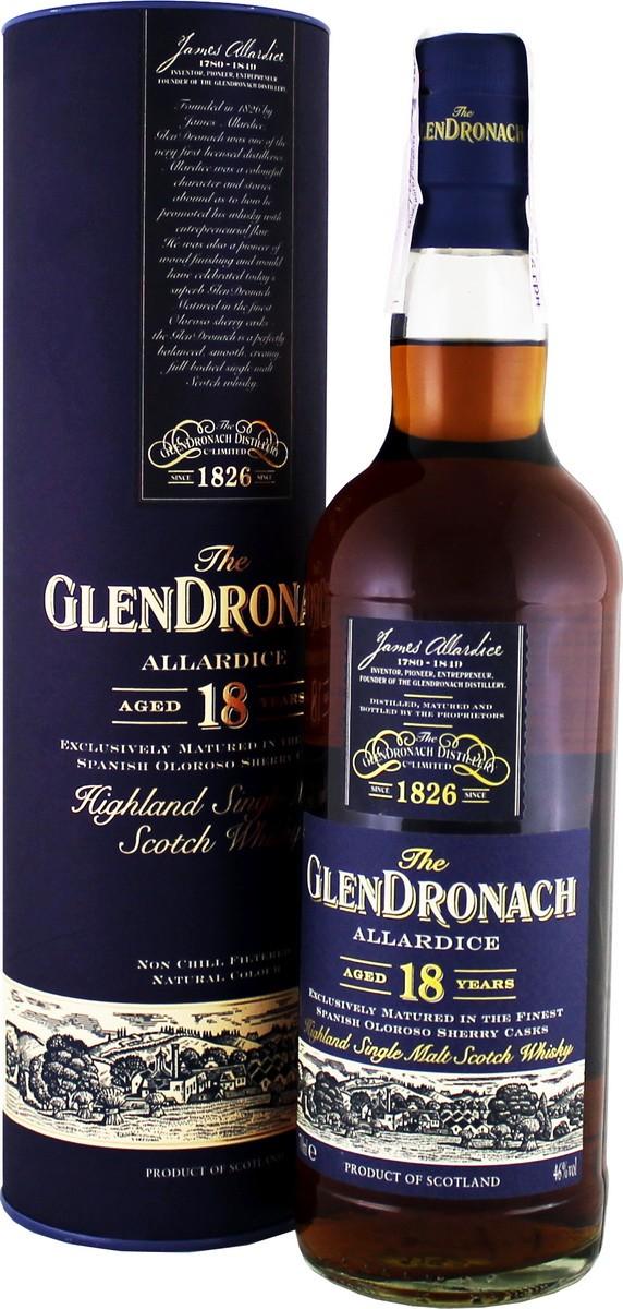Glendronach Allardice 18 Y.O. (в тубусе) фото