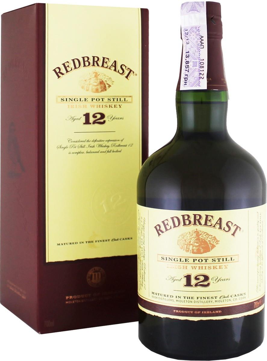 Redbreast 12 Y.O. (в коробке) фото