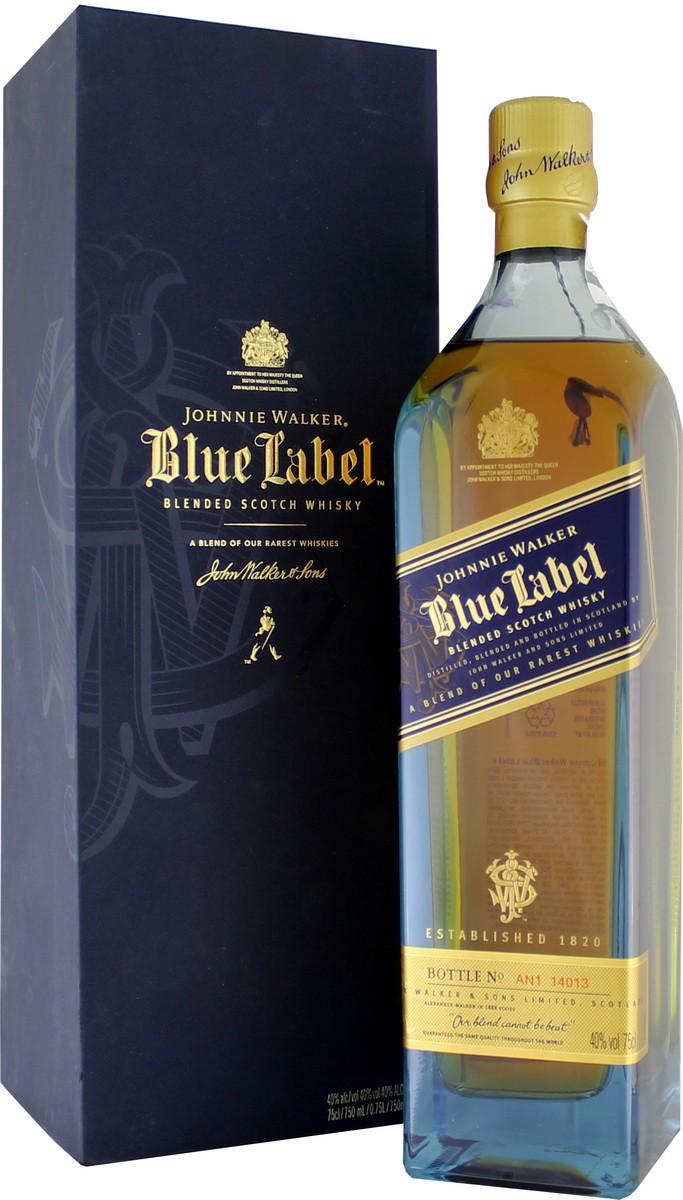 Johnnie Walker Blue Label (в коробке) фото