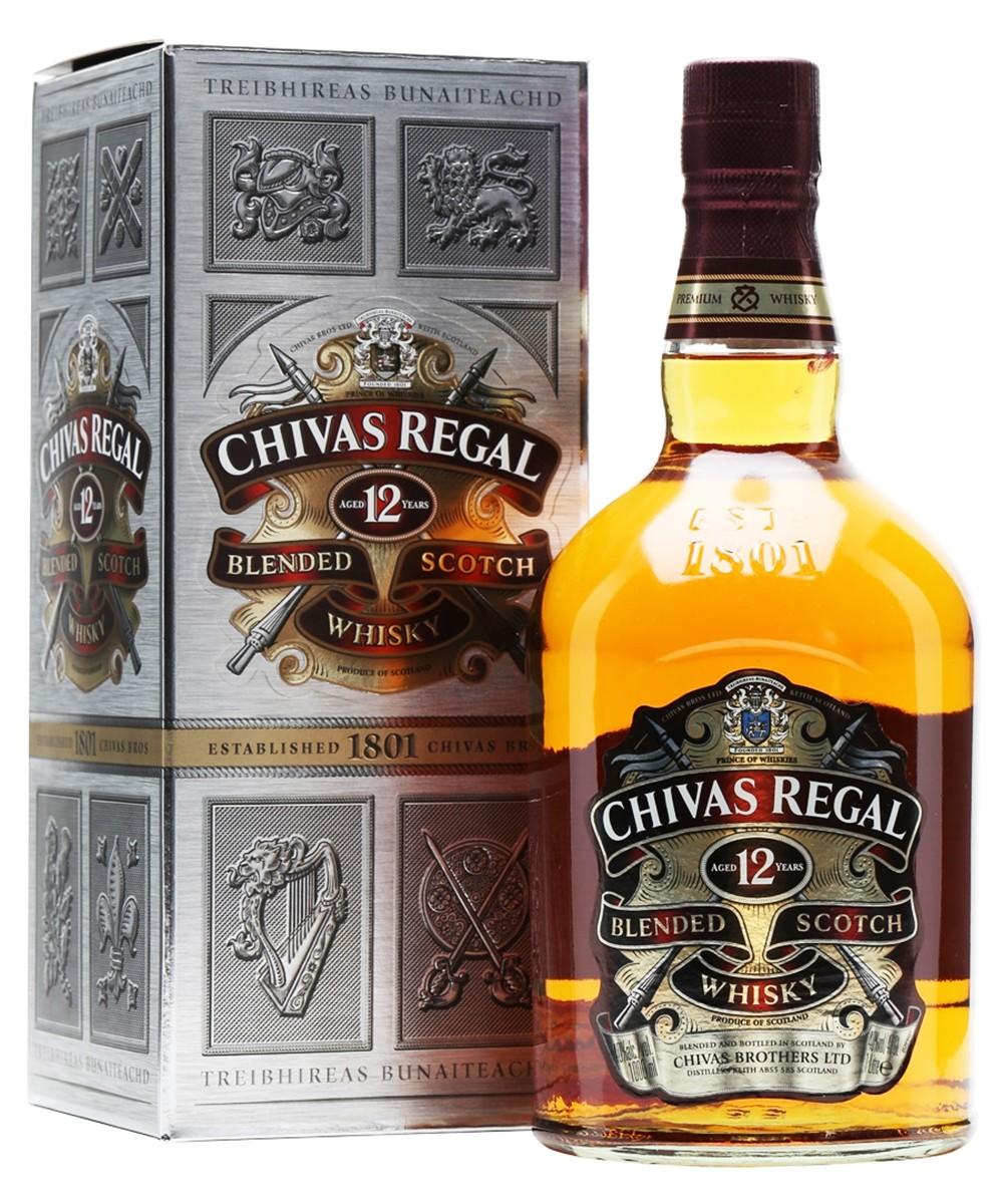 Chivas Regal 12 Y.O. (в коробке) фото