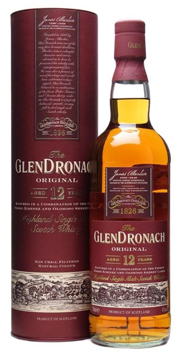 GlenDronach Original 12 Y.O. (в тубусе) фото