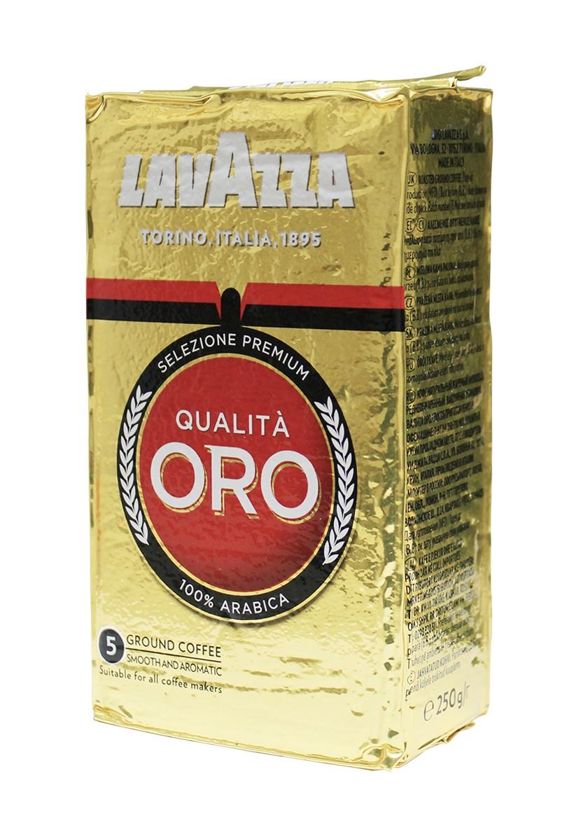 Кофе молотый Lavazza Qualita Oro фото