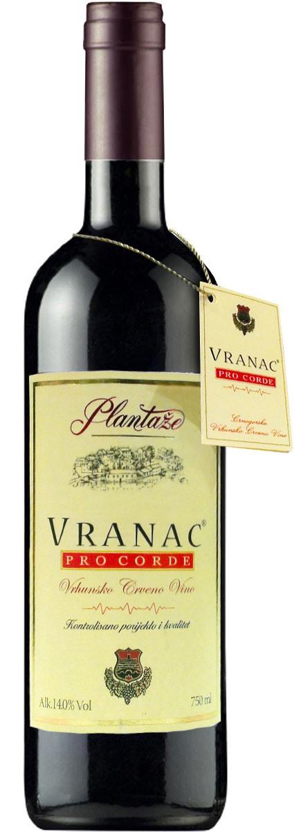 Plantaze Vranac Pro Corde фото