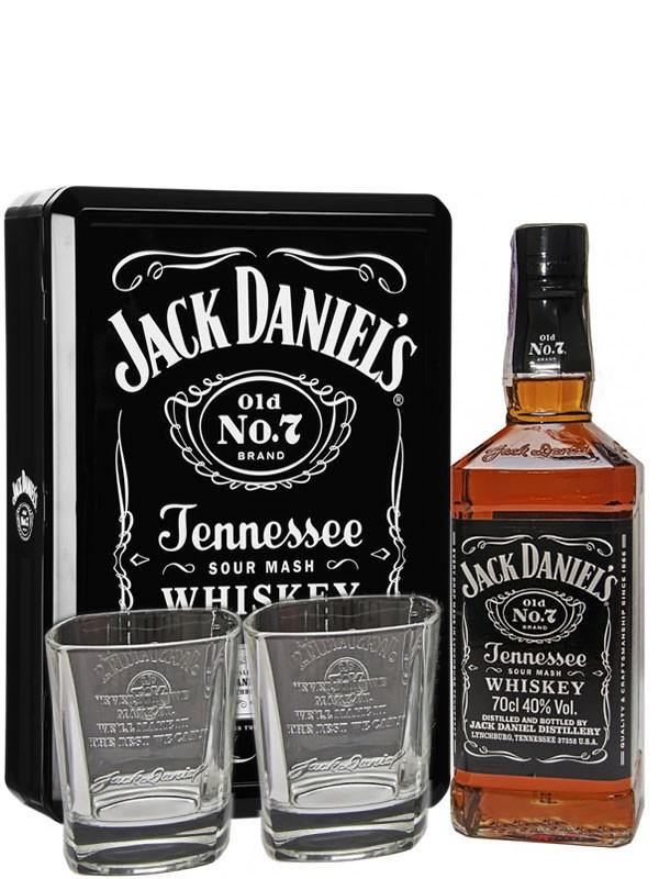 Jack Daniel's + 2 бокала фото