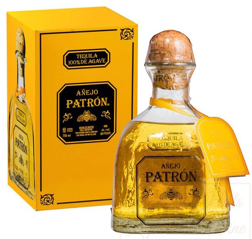 Patron Anejo (в коробці) фото