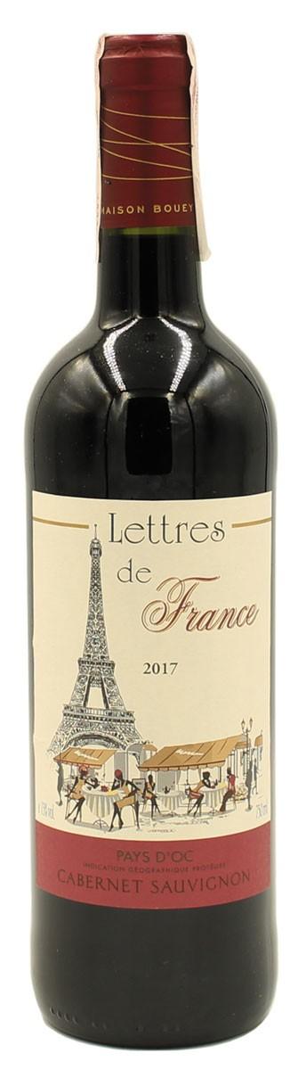 «Lettres de France» Cabernet Sauvignon Pays d'Oc Rouge фото