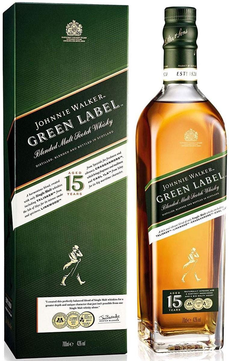 Johnnie Walker Green Label (в коробке) фото