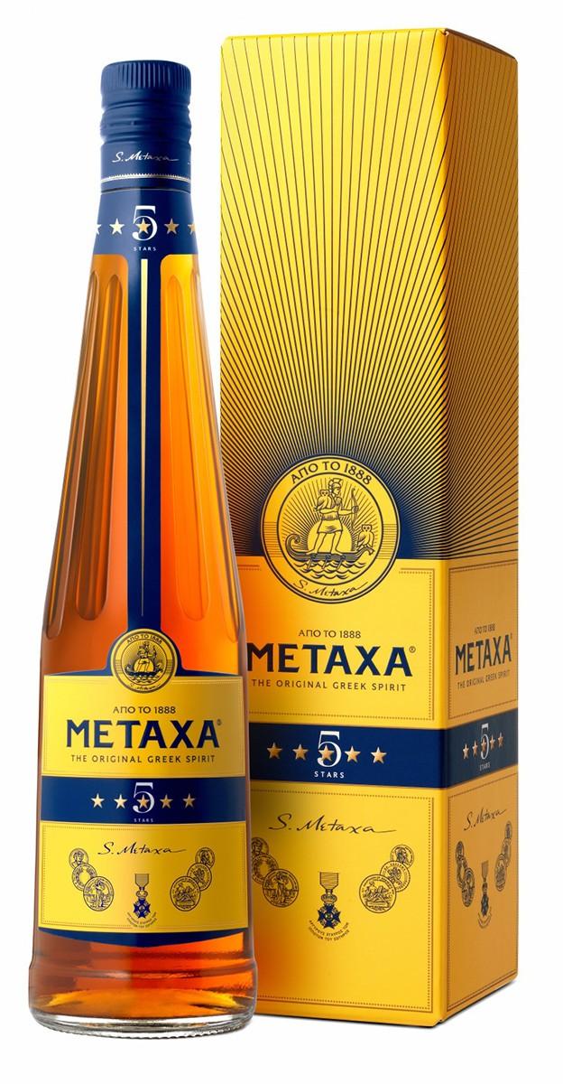 Metaxa 5* (в коробке) фото