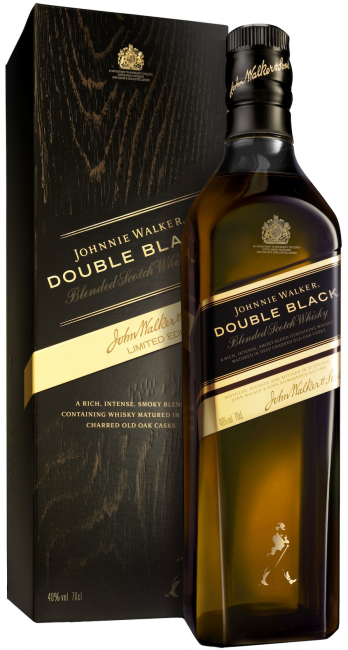 Johnnie Walker Double Black 12 Y.O. (в коробке) фото