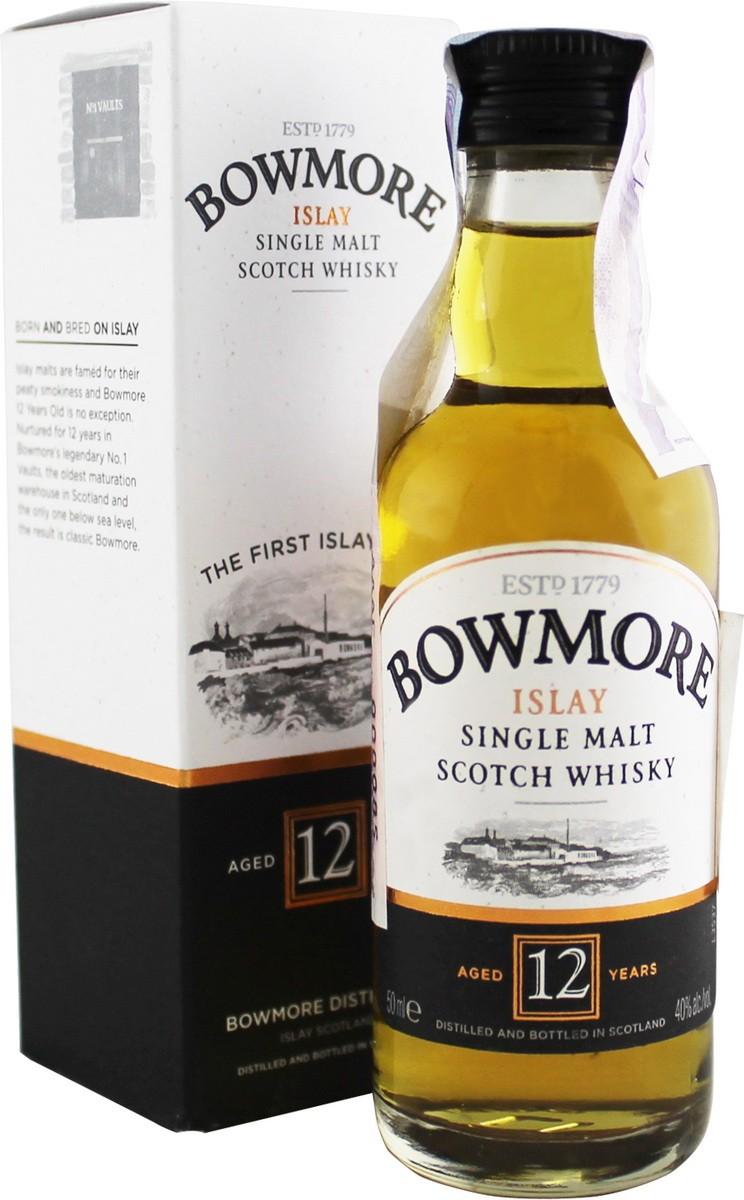Bowmore 12 Y.O. (в коробке) фото