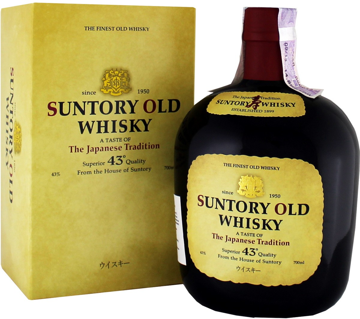 Suntory Old Whisky (в коробці) фото