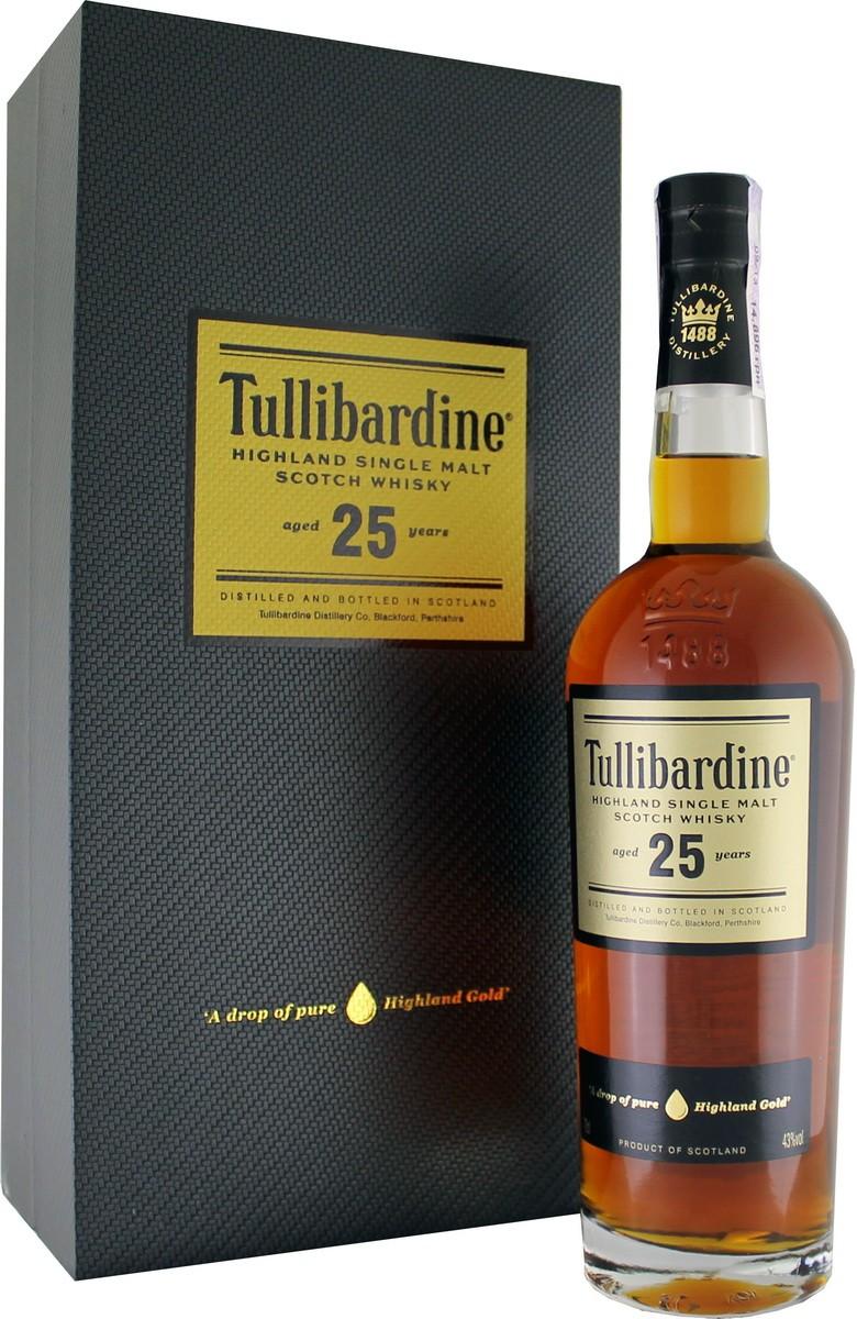 Tullibardine 25 Y.O. (в коробке) фото