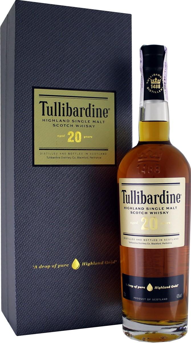 Tullibardine 20 Y.O. (в коробке) фото