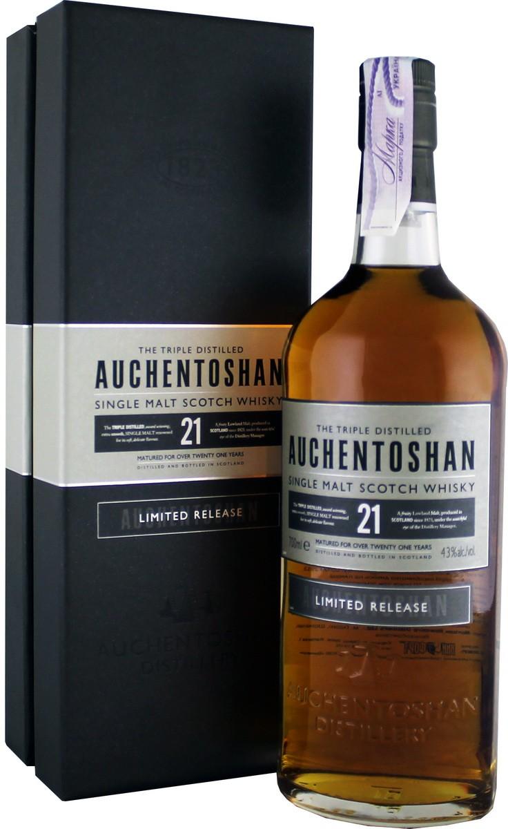 Auchentoshan 21 Y.O. Limited Release (в коробці) фото