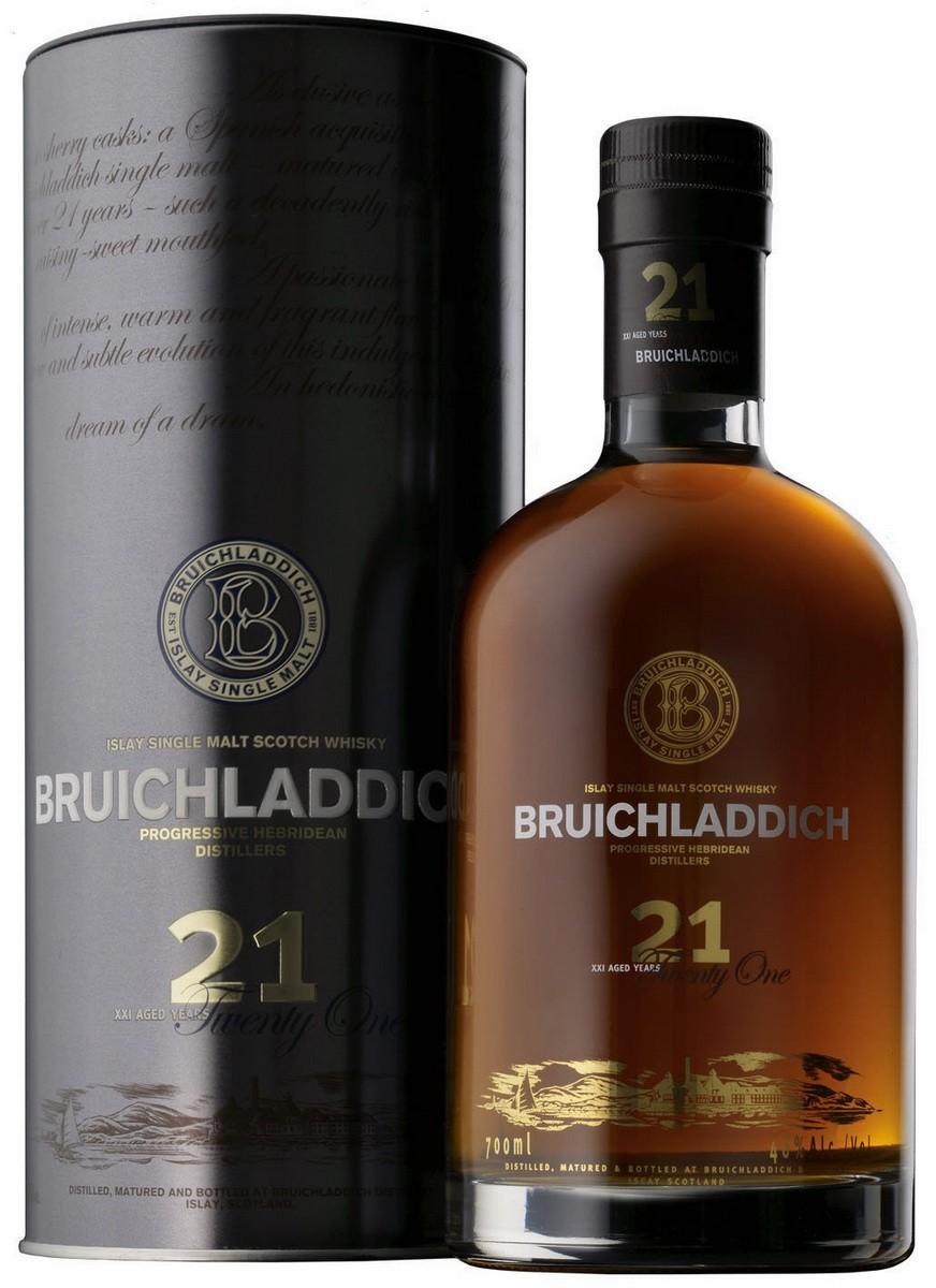 Bruichladdich Distillery Bruichladdich 21Y.O. (в тубусі) фото