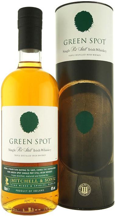 Green Spot Pot Still Irish Whiskey (в тубусі) фото