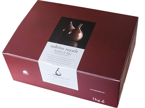 Інжир в шоколаді Rabitos Royale фото