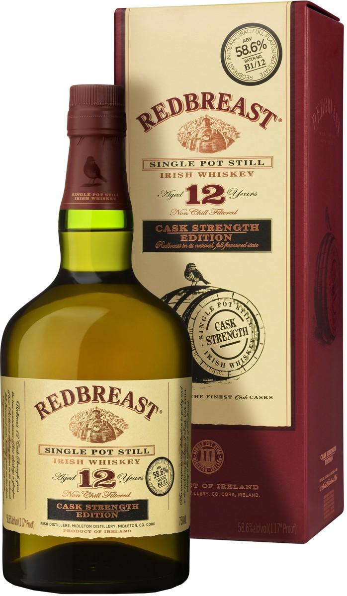 Redbreast 12 Y.O. Cask Strength (в коробці) фото