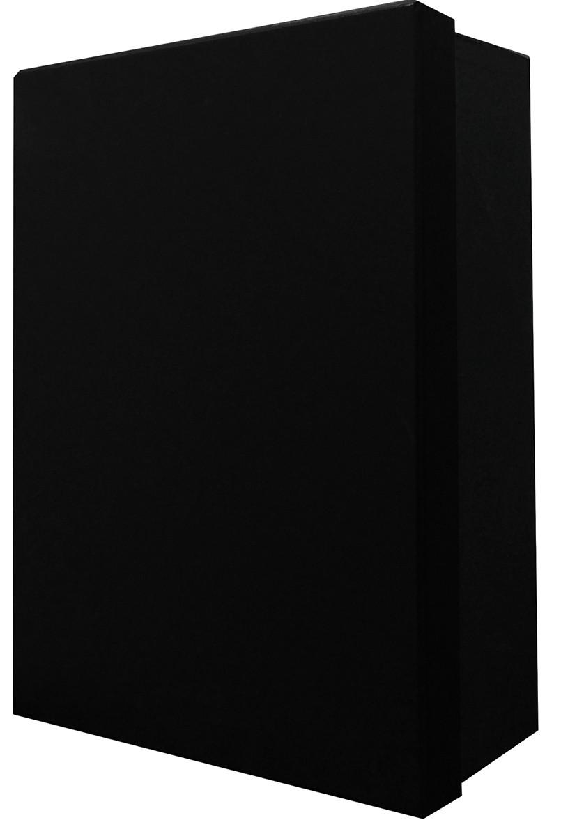Короб картонный подарочный (черный) фото