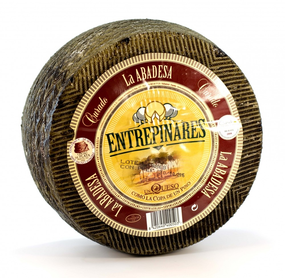 Сыр полувыдержанный La Abadesa Три вида молока Entrepinares Viejo фото