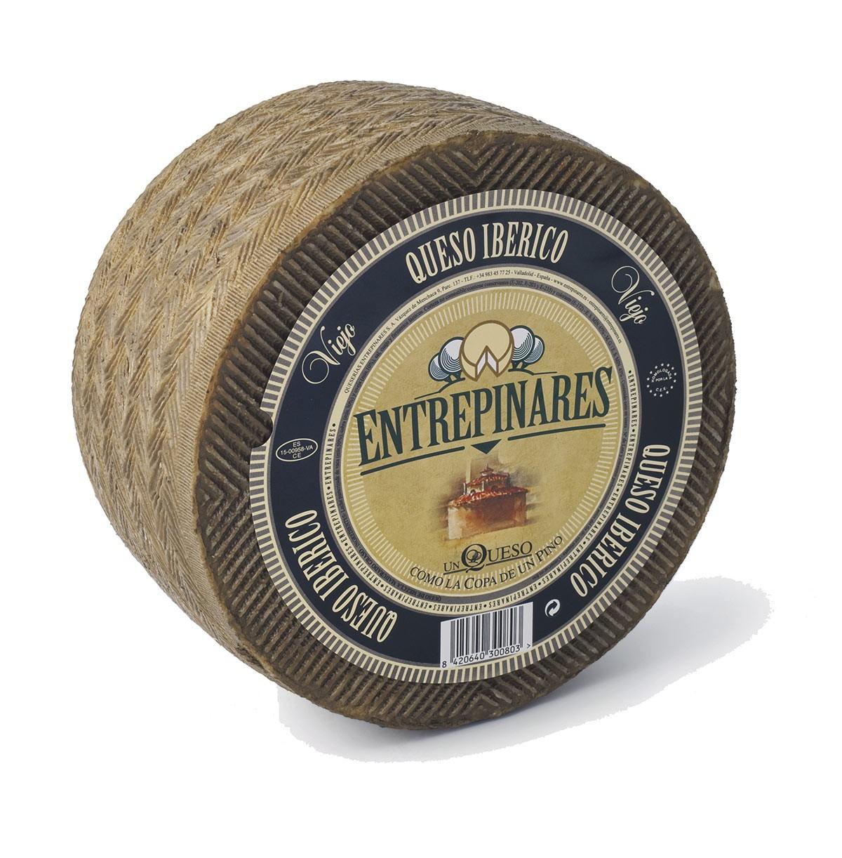 Сыр Иберико выдержанный Три вида молока Entrepinares Viejo фото