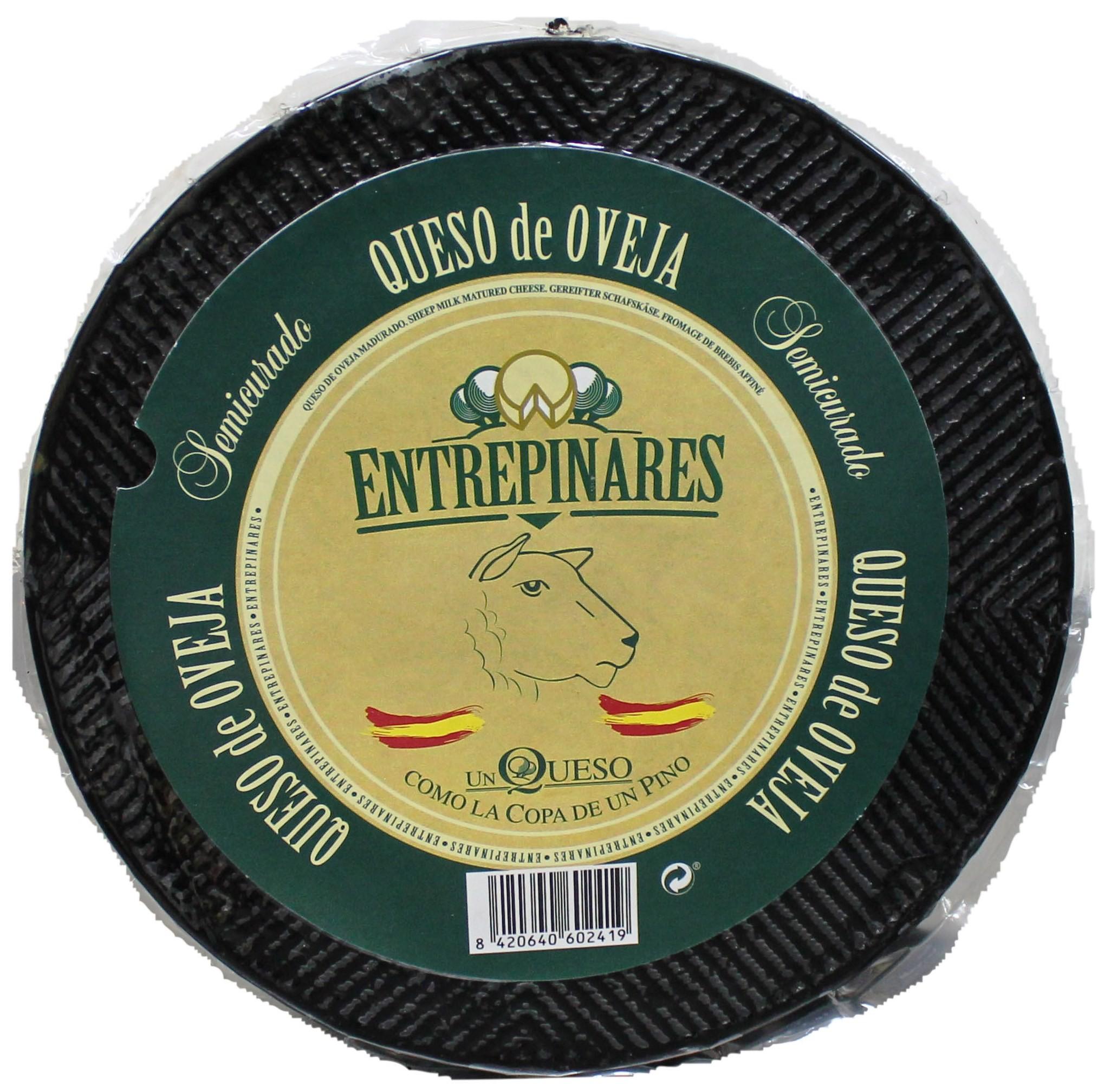 Сыр овечий полувыдержанный Entrepinares Viejo фото