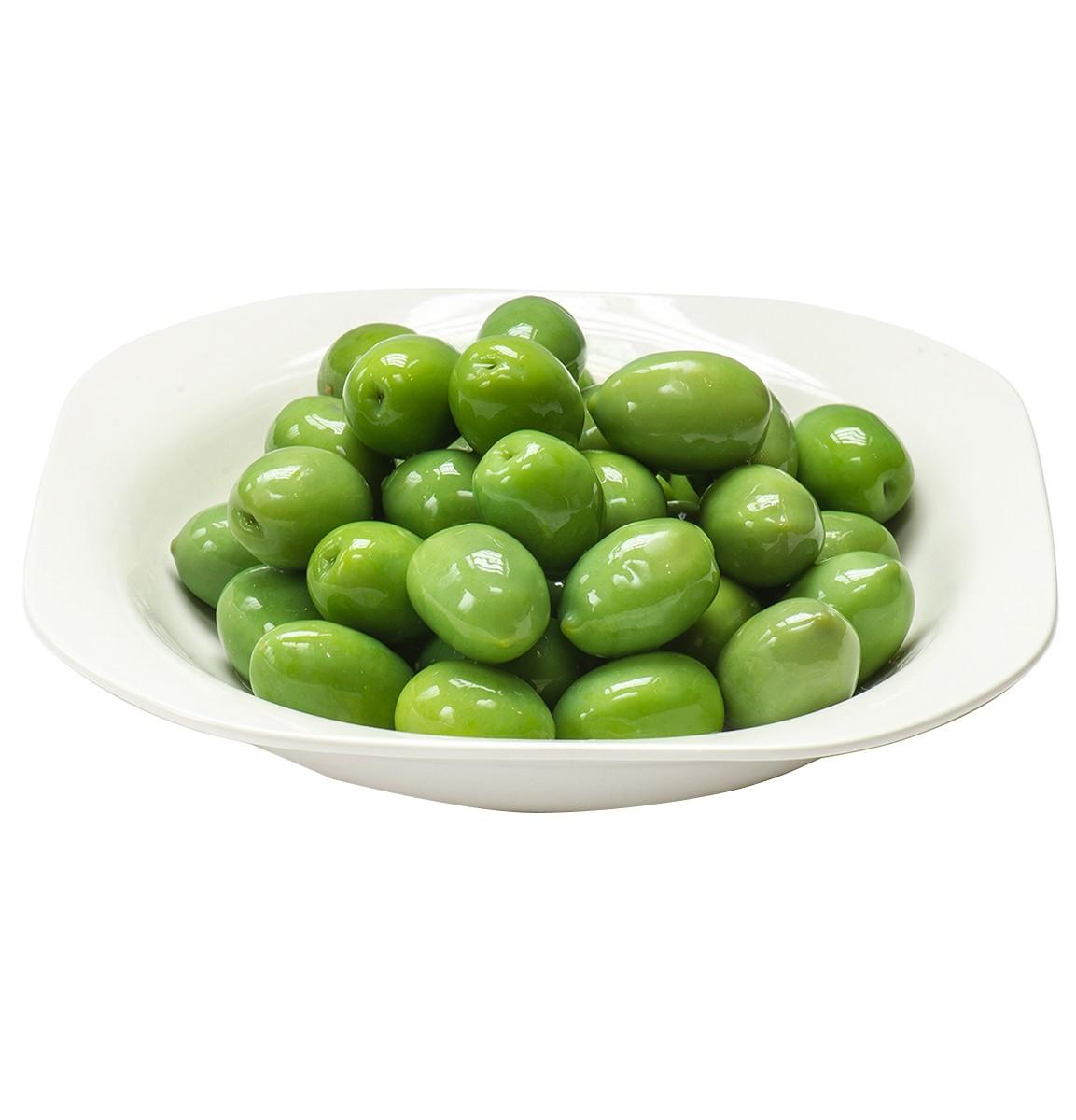 Оливки Зелені великі в росолі Ficacci фото