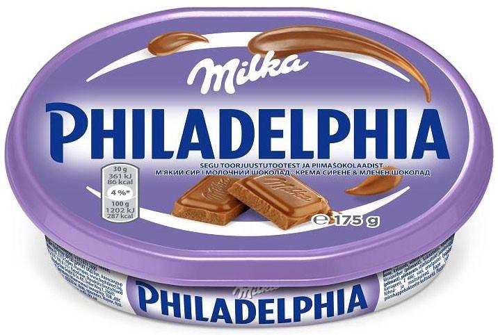 Крем-сыр Philadelphia Milka Kraft фото