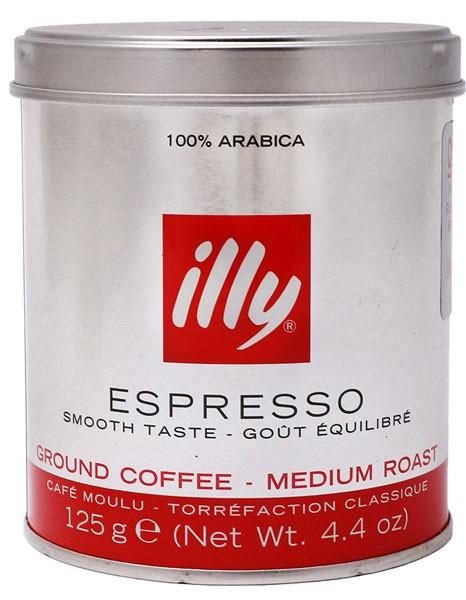illycaffe кофе молотый фото