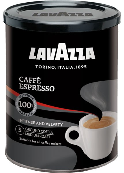 Lavazza Espresso кофе молотый фото